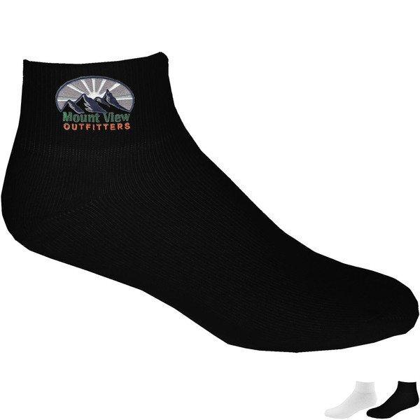 Athletic Comfort Pro Cotton Blend Socks, Quarter Top