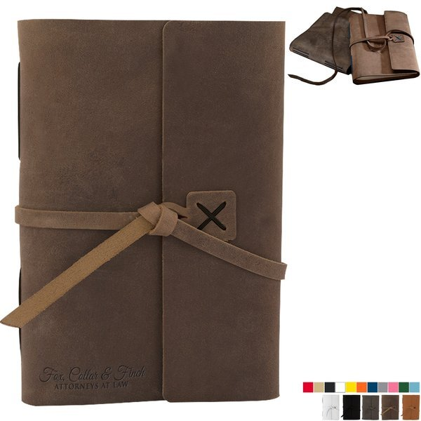 """Cooper Large Leather Journal, 6-1/2"""" x 8-3/4"""""""