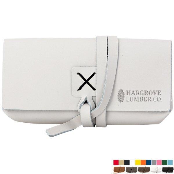 Draper Leather Wrap Sunglass Case