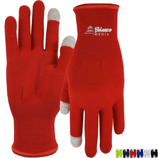 Performance Runner's Nylon Touchscreen Gloves