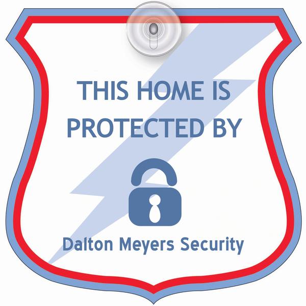 Badge Shield Window Sign