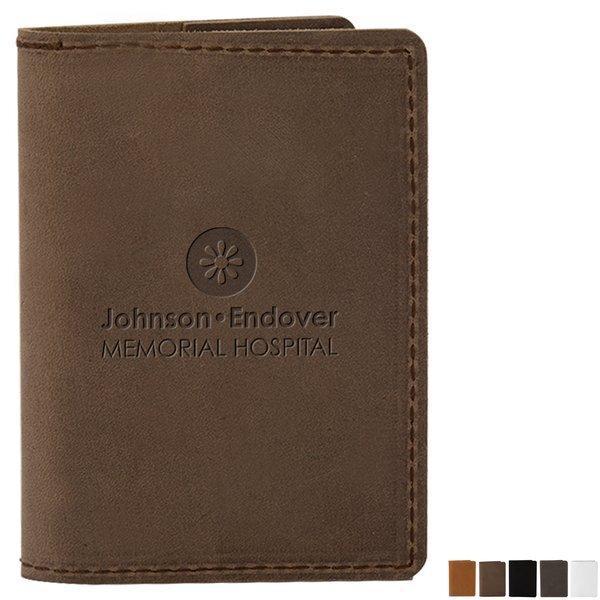 "Clark Mini Leather Composition Book, 3-3/4"" x 5-13/100"""