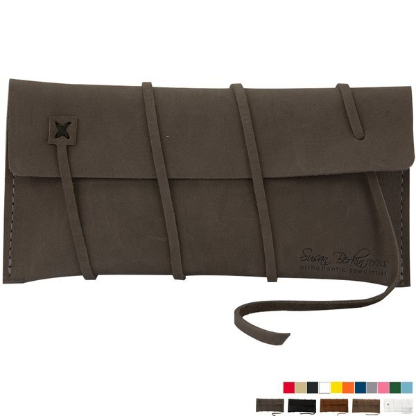 Cohen Leather Amenities Pouch