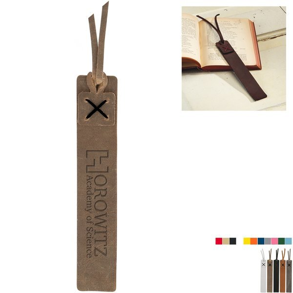 Turner Tasseled Leather Bookmark
