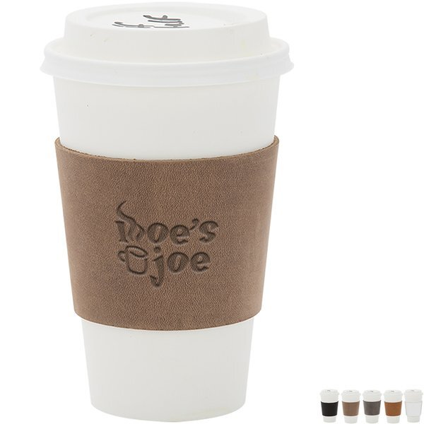 Tapley Leather Cup Sleeve