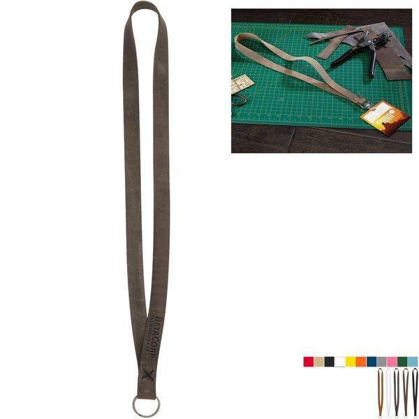 Roper Leather Lanyard w/ Split Ring
