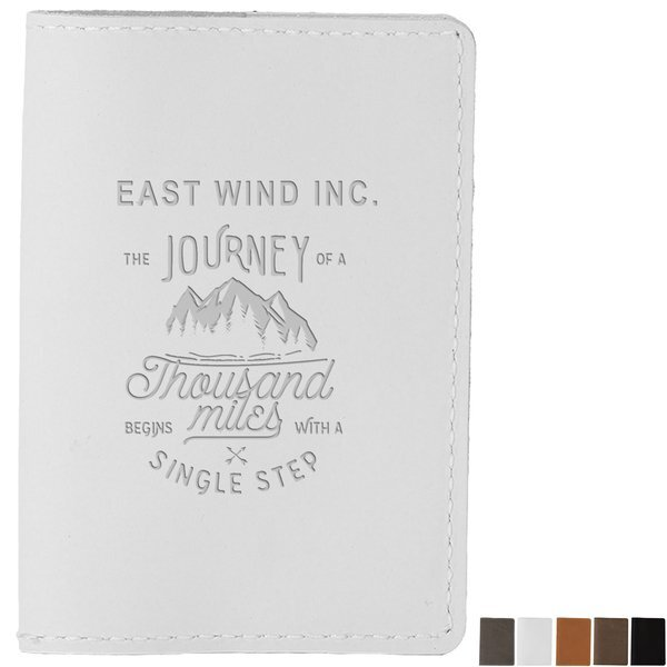 Currier Leather Passport Cover
