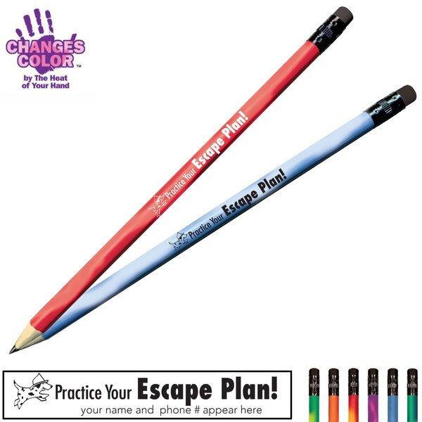 Practice Your Escape Plan Mood Color Changing Pencil