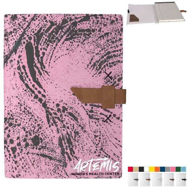 Hubbard Recycled Dye-Sublimated Felt Padfolio