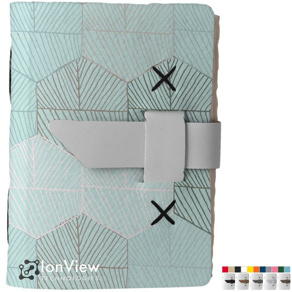"Jackson Small Recycled Dye-Sublimated Felt Journal, 5-1/4"" x 6-8/9"""
