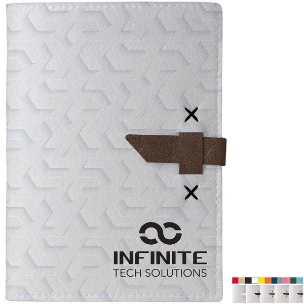 Rainier Recycled Dye-Sublimated Felt Mini Padfolio