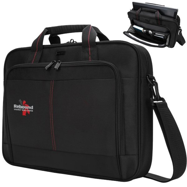 "Targus®16"" Classic Polyester Laptop Briefcase"