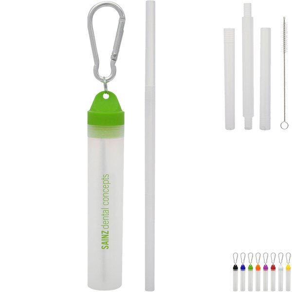Buildable Straw Kit in Travel Case