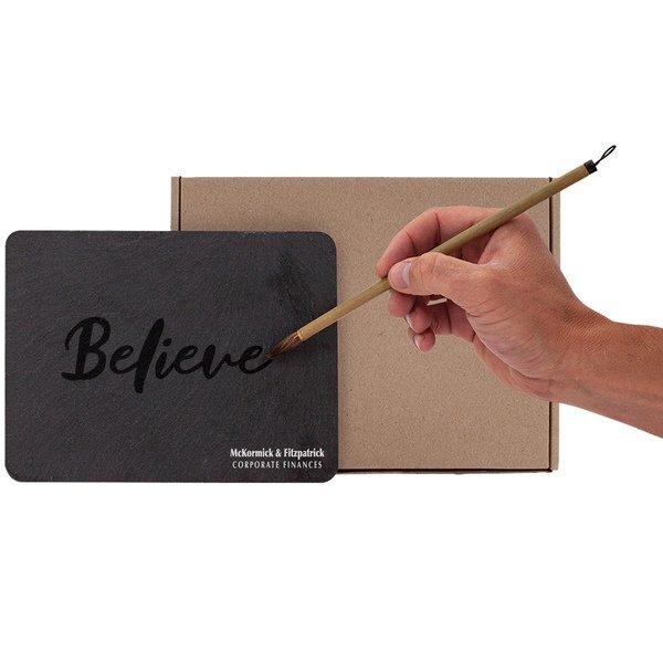 Parson Reusable Calligraphy Slate & Bamboo Brush