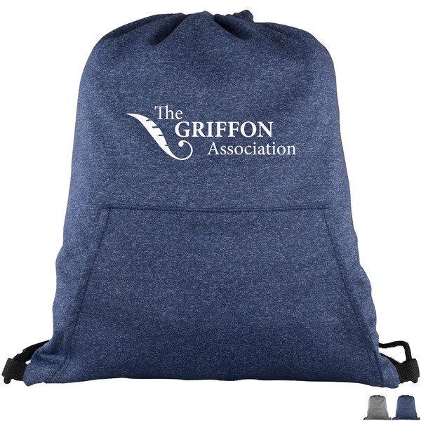 Hype Sweatshirt Fleece Drawstring Backpack