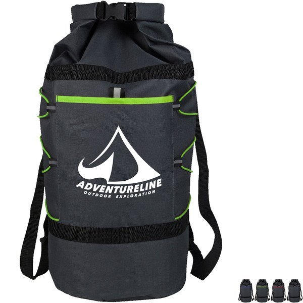 "Adventure Polyester Duffel Bag, 23"""
