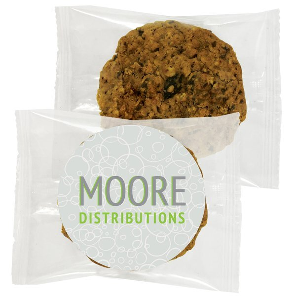 Gourmet Oatmeal Raisin Cookie, Individually Wrapped