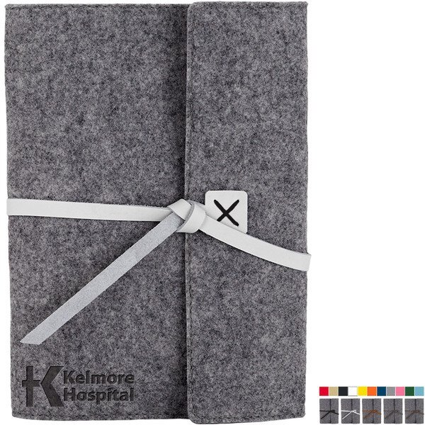 Hemlock Recycled Felt Composition Book Cover