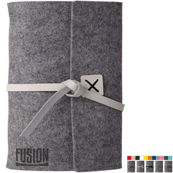 """Sequoia Large Recycled Felt Journal, 6-1/2"""" x 8-3/4"""""""