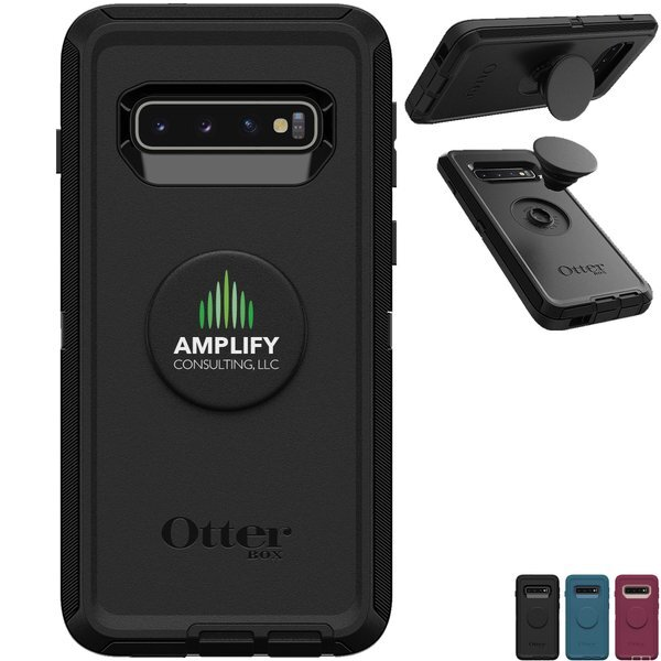 Otter + Pop Symmetry Phone Case & Grip for Galaxy S10