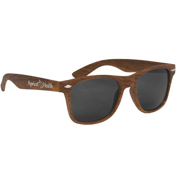 Malibu Style Woodtone Sunglasses