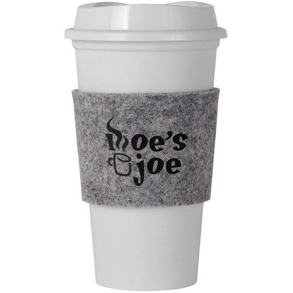 Spruce Recycled Felt Cup Sleeve