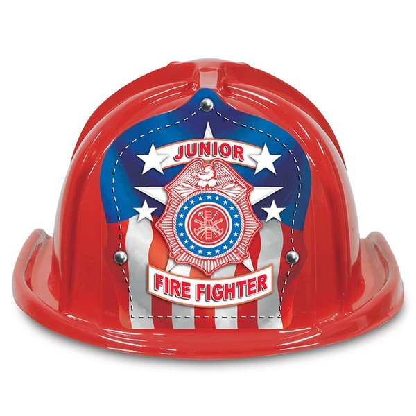 SPECIAL DEAL! Chief's Choice Kid's Patriotic Jr. Firefighter Hat, Stock