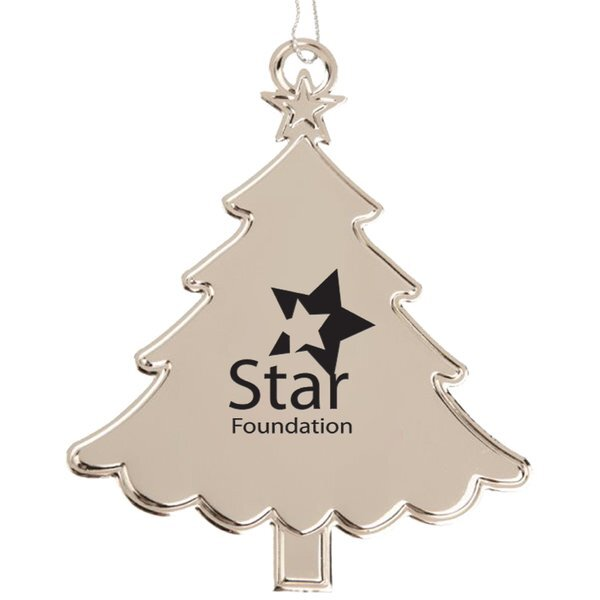 Christmas Tree Stainless Steel Ornament