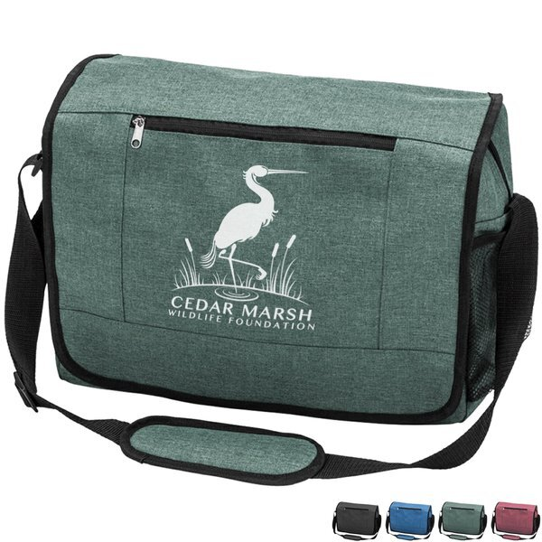 Harrow Polyester Messenger Bag