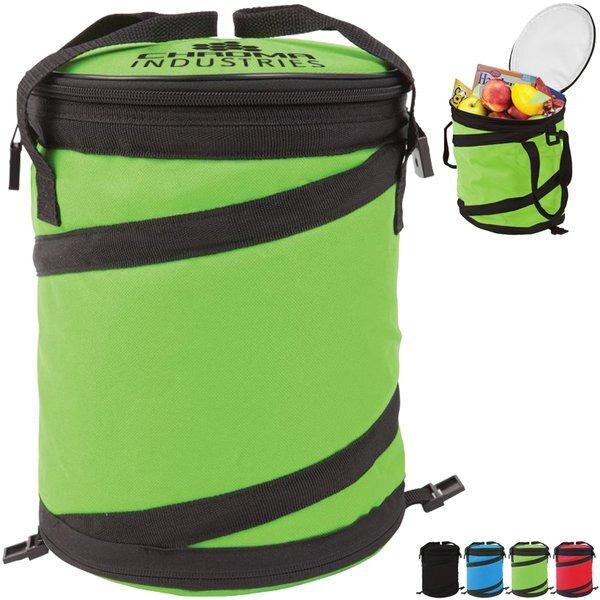 Accordion Polyester Cooler Bag