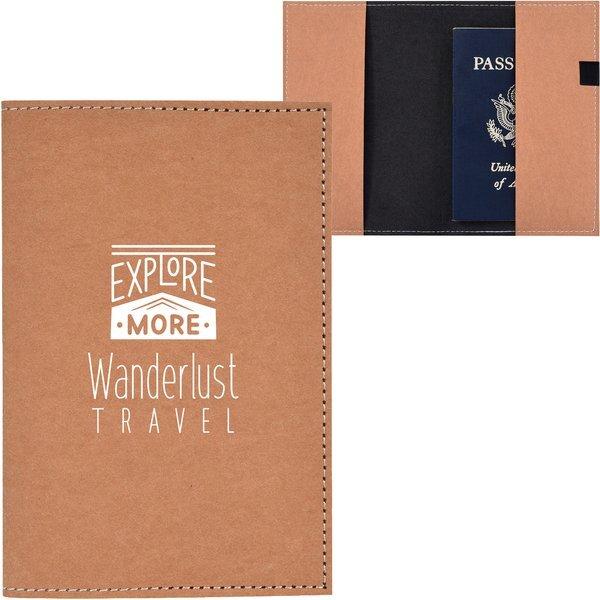 Kraft Paper Passport Holder