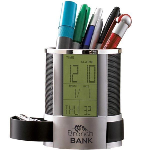 Modern Digital Desk Caddy