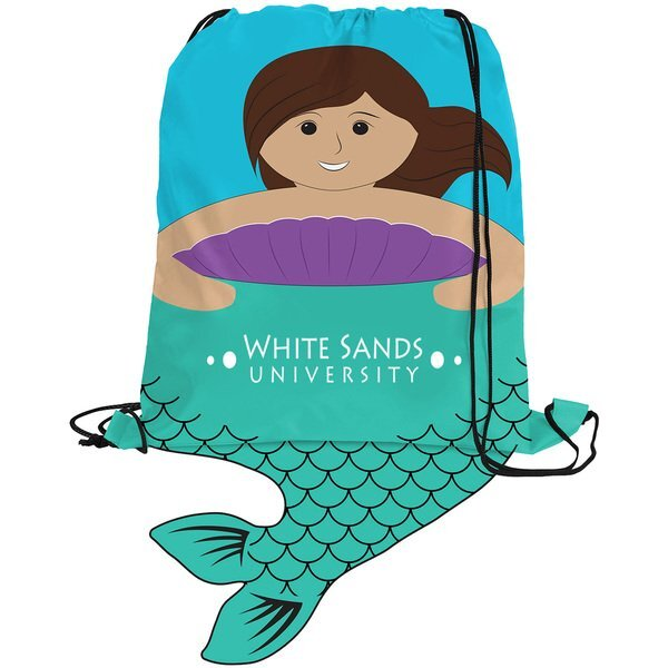 Paws N Claws Polyester Sport Pack - Mermaid