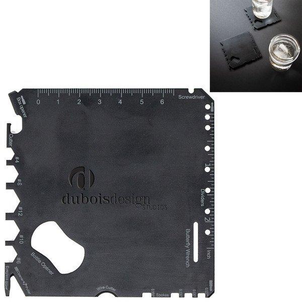 Signature Collection 2-Piece Multifunction Coaster Tool Set