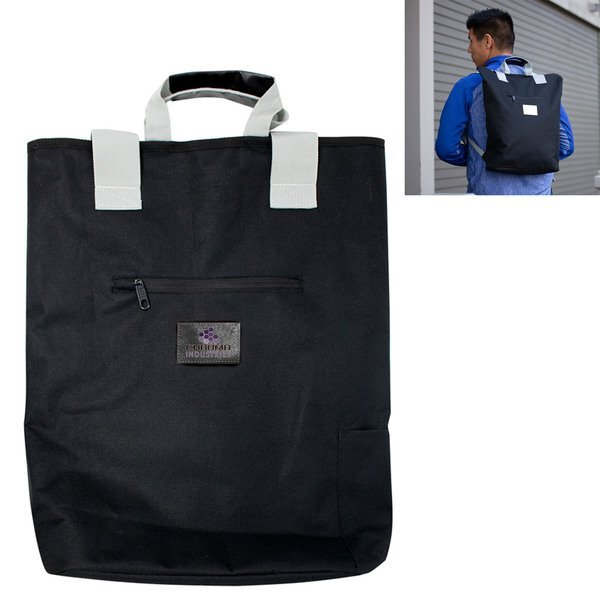 Slater Polyester Backpack Tote
