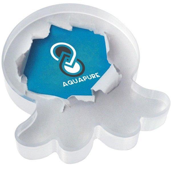 Jellyfish Acrylic Award, Full Color Imprint