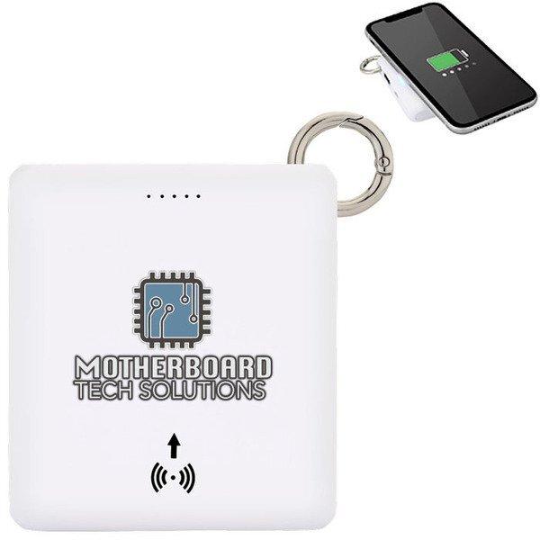 O-Ring Wireless Charger & Power Bank, 5000mAh