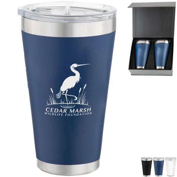 Basecamp® Pint Tumblers Set, 16oz.
