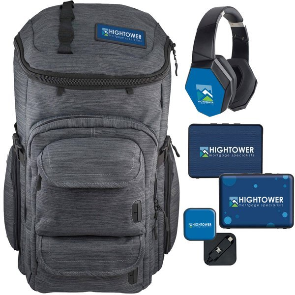 Backpack & Tech Gifts New Employee Welcome Kit