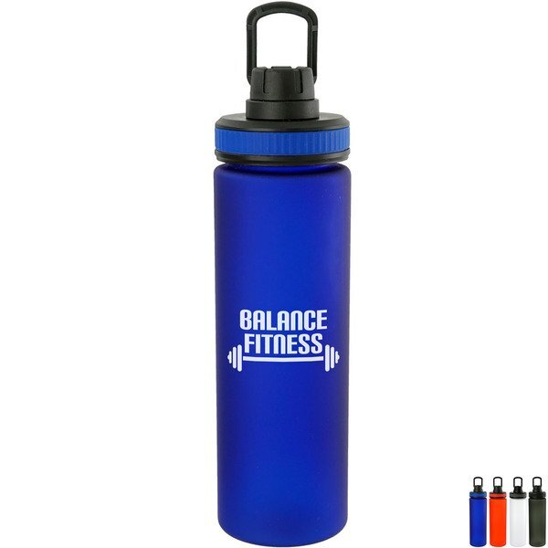 Band-It Frosted Water Bottle, 24oz.