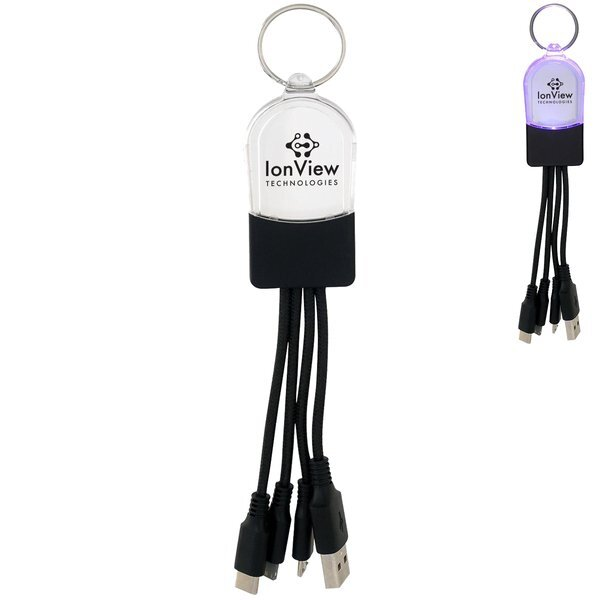 Clearview Light-Up Charging Cable