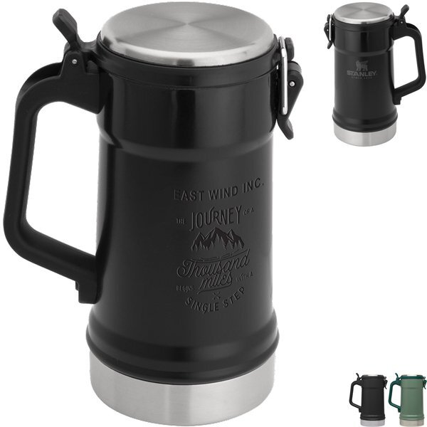 Stanley® Classic Stainless Vacuum Stein, 24oz.