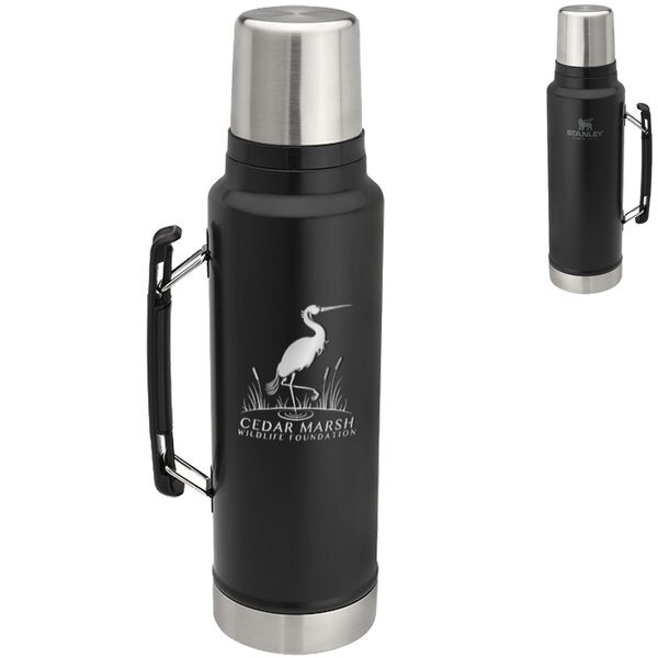 Stanley® Classic Stainless Vacuum Insulated Bottle, 48oz.