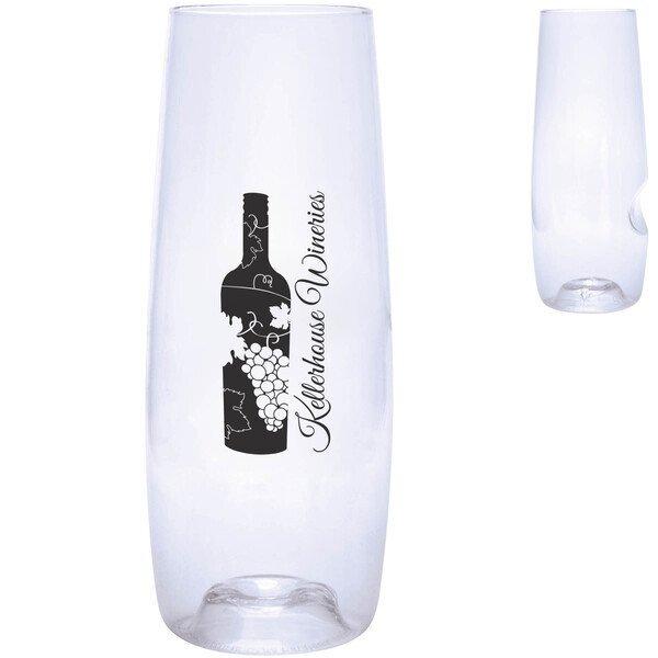 Dishwasher Safe Govino® Champagne Flute, 8oz.