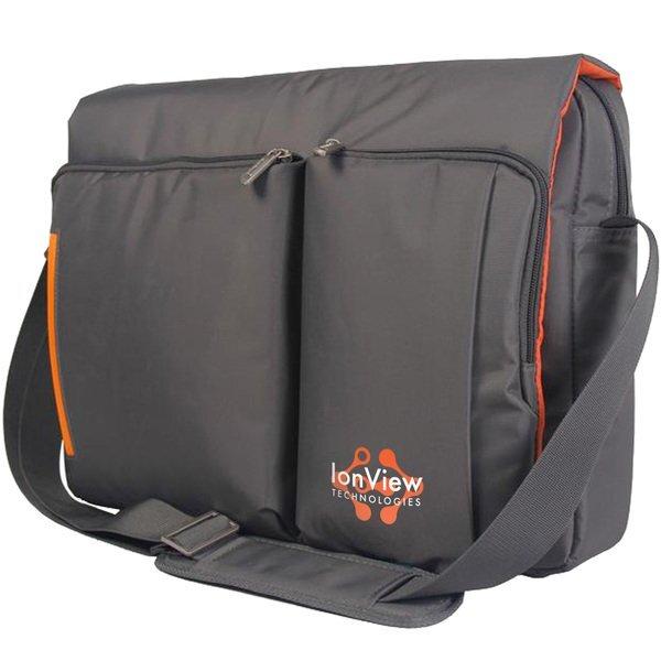 "Toronto Nylon 15"" Laptop Messenger Bag"