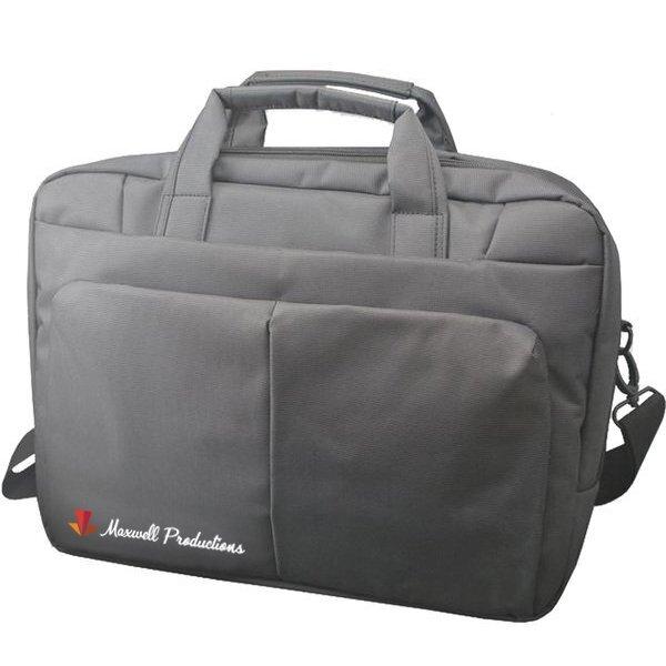 "Boston Nylon 15"" Laptop Messenger Bag"