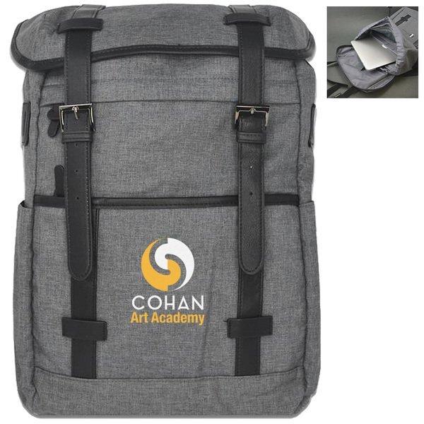 Charleston Polyester Laptop Backpack