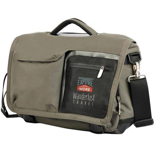 "Seattle Nylon 15"" Laptop Messenger Bag"