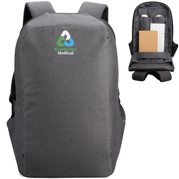 Austin Anti-Theft Polyester Laptop Backpack