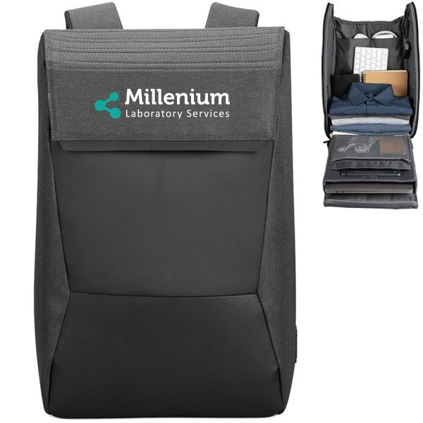 NYC Polyester Laptop Backpack